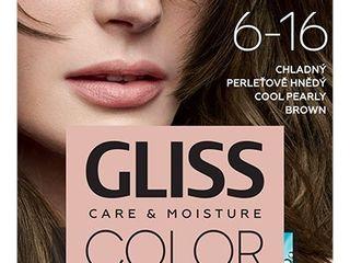 Schwarzkopf Gliss Color farba na vlasy 6-16 chladná perleťovohnedá 1x1 ks