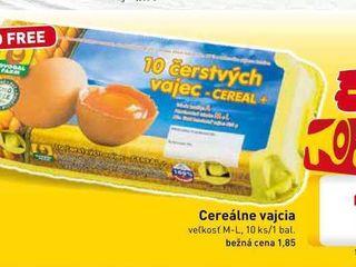 Cereálne vajcia 10 ks