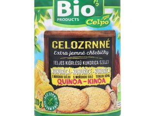Obrázok Celozrnné kukuričné chlebíčky Bio