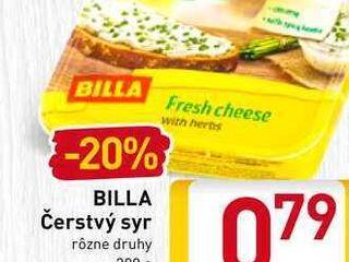 Obrázok   BILLA Čerstvý syr  200 g